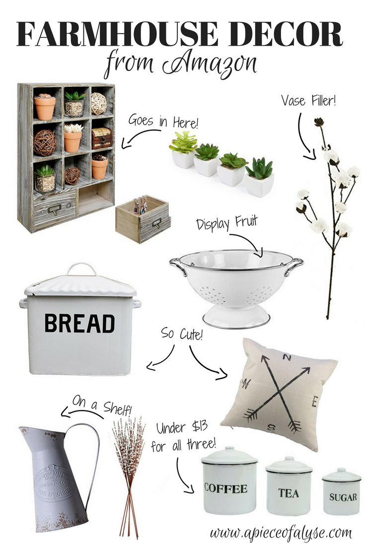 Amazon Farmhouse Decor Favorites