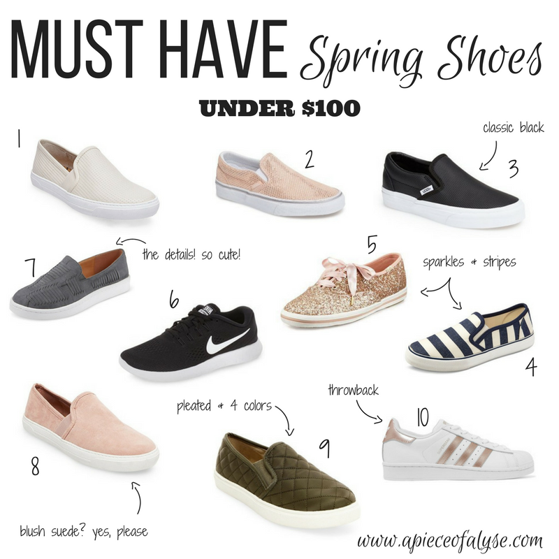 Must Have Spring Sneakers Under $100