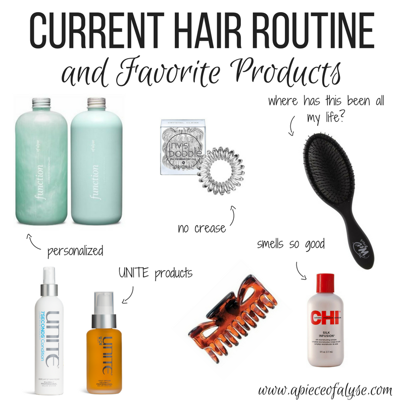 Current Hair Routine and Favorite Products