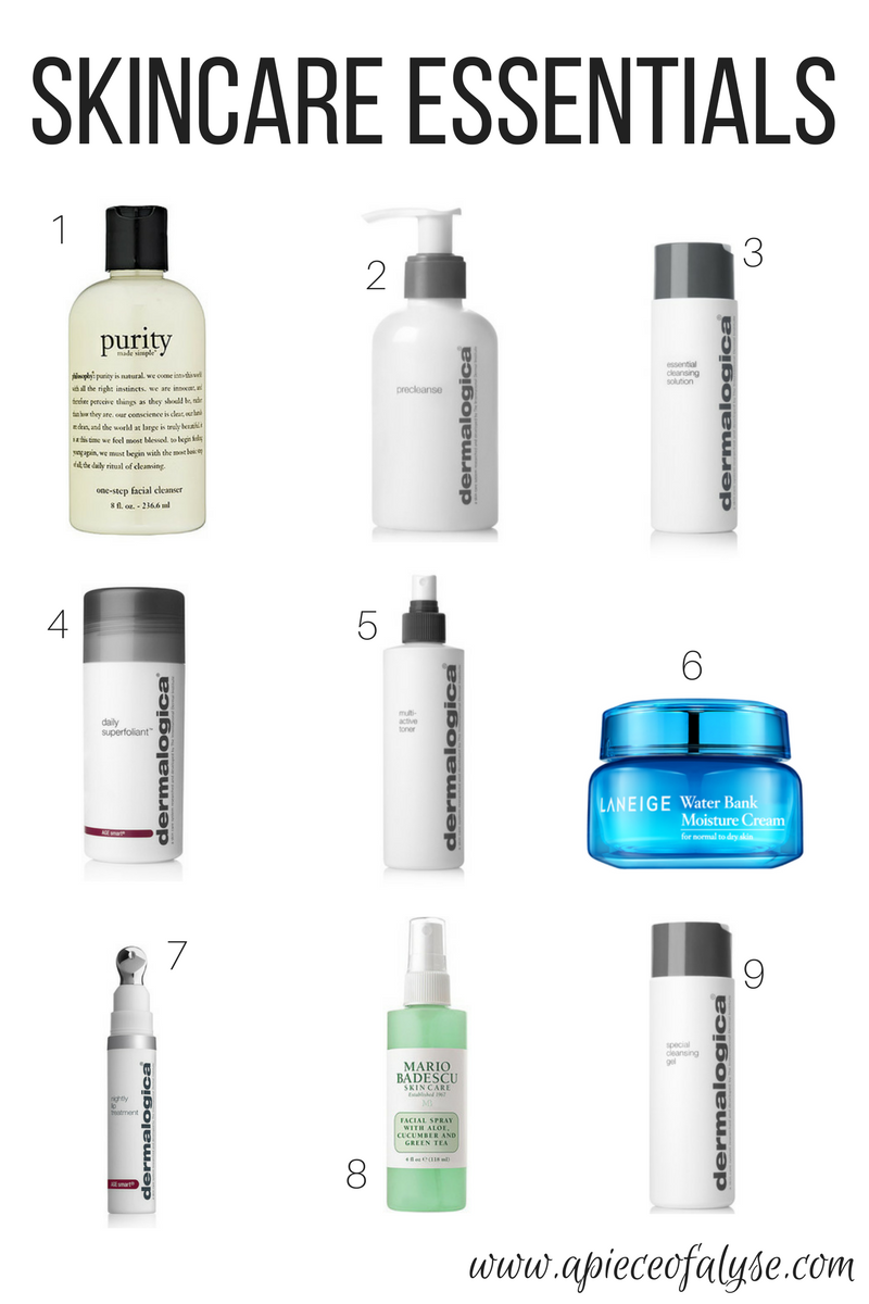 Current Skincare Favorites & Routine