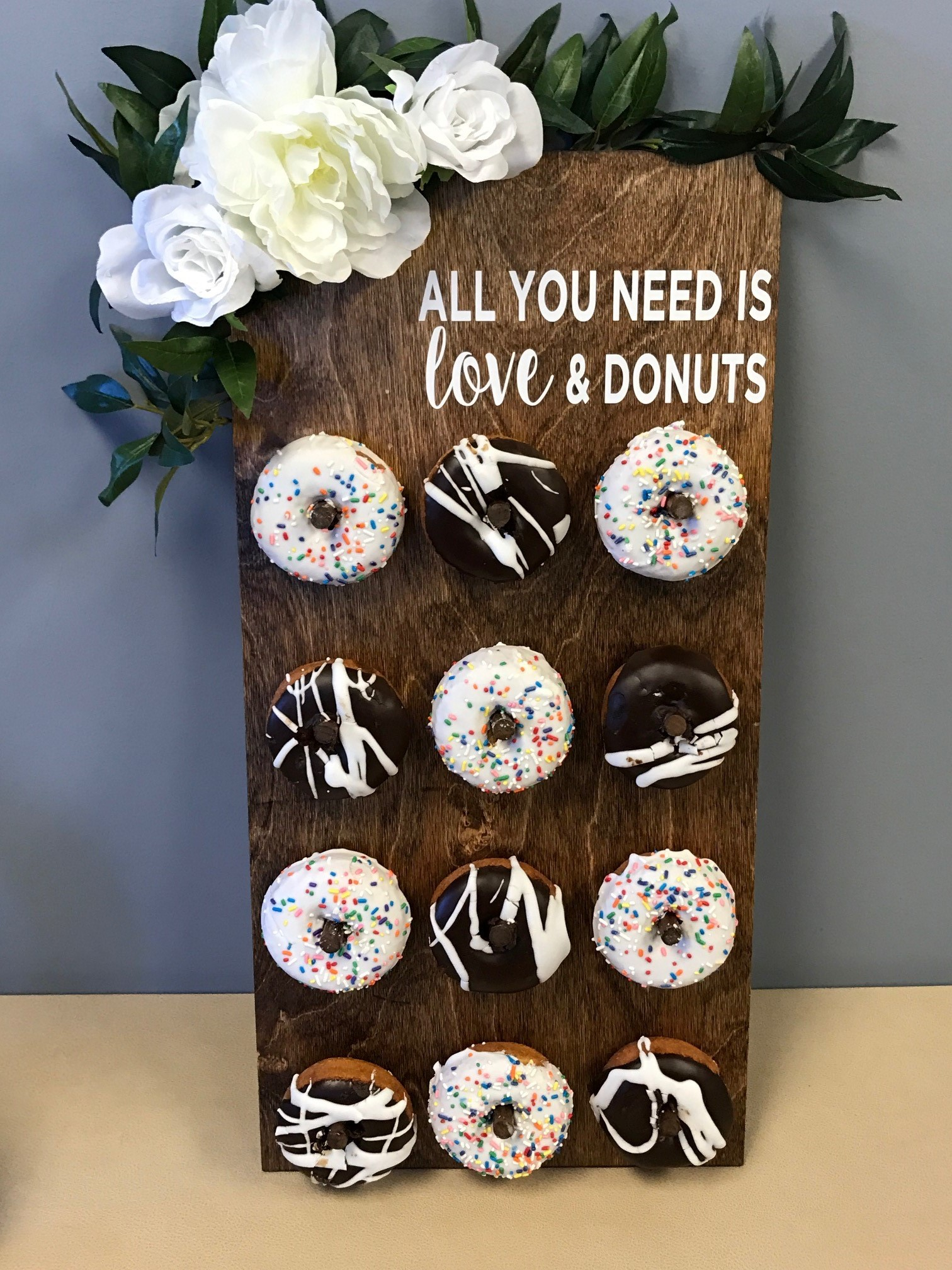 DIY Donut Board | All You Need is Love & Donuts